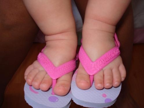 os pés de ana luiza